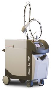 Dermatological laser / alexandrite / Nd:YAG / on trolley