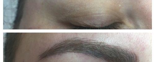 Ημιμόνιμο μακιγιάζ (microblading)